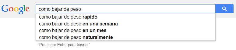 busquedas de google